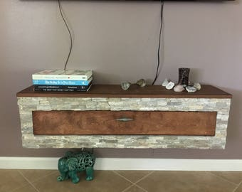 Marvelous Floating Stone Tv/wall Cabinet