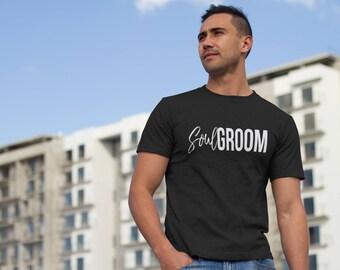 Soul Groom Men's short sleeve t-shirt, soul groom t-shirt, groom t-shirt, wedding t-shirt, getting married, engaged, relationship t-shirt
