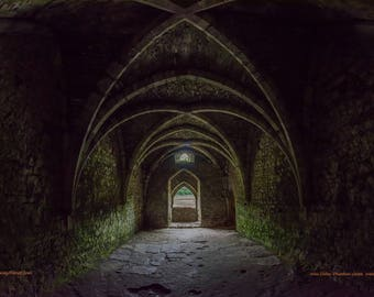Chepstow Castle, Wales c. 1067 - Wine Cellar