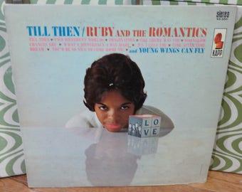 Soul/DooWop LP-Ruby & The Romantics-Till Then-KAPP KS-3341