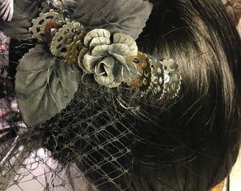 Steampunk Hair Comb