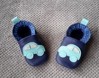 baby car size 20 pattern leather baby shoes