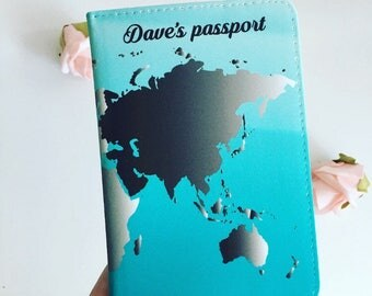 Passport cover i have this desire to explore watercolor mens world map personalised passport cover world map passport holder mens passport cover gumiabroncs Choice Image