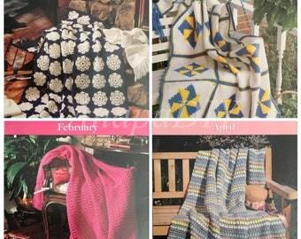 PDF 12 Crochet A Year Of Afghans #6