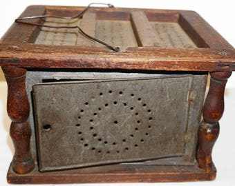 Mid 19th Century Carriage Foot Warmer