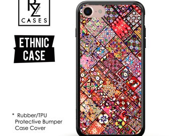 Ethnic Phone Case, Aztec Phone Case, Tribal Case, Ethnic iphone 7, iPhone 7 plus, iPhone 6s, iPhone, iPhone 5, Rubber, Bumper Case