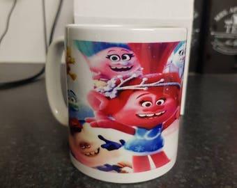 Trolls holiday 11oz mug