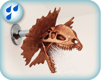 Dilophosaurus Shower Head | 3D printed