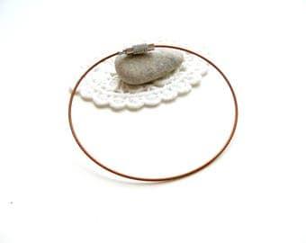 bracelet Brown cable holder