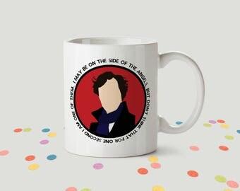 Sherlock Holmes Ceramic Mug