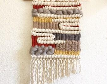 custom order - macrame woven wall hanging