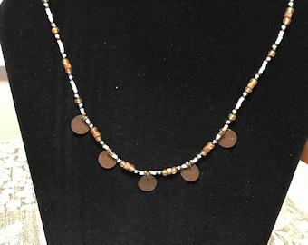 Beautiful bronze necklace