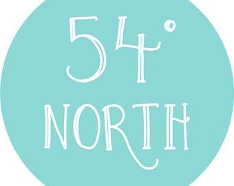 54º North Magazine   issue 002   PRE ORDER