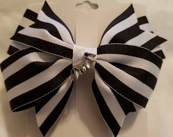Nightmare before Christmas inspired bow.