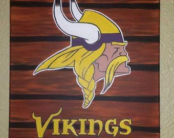 Vikings Sports Painting