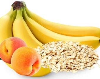 Organic Banana Peach Oatmeal Doggie Dessert