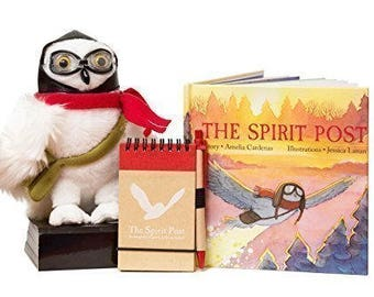 The Spirit Post: A Christmas-themed Children's Book and Owl Toy Encouraging Year-Round Kindness and Character