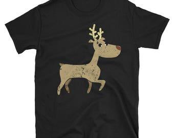 Funny Reindeer Funny Christmas Shirt