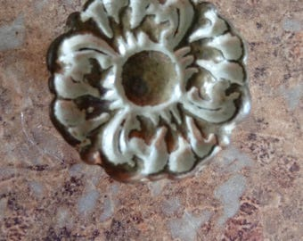 Antique French provincial pull knob