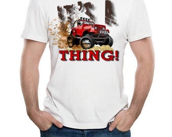 """Adult """"Its A Jeep Thing"""" Tee"""