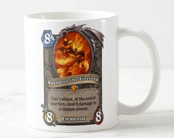 Hearthstone Card Mug - Hearthstone Mug - Hearthstone - Hs Mug - Gift for Her - Gift for Him - Custom Mug - For Her - For Him