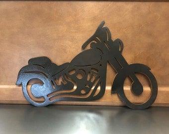 Motorcycle /Harley Davidson Cutout