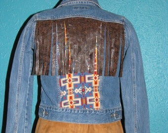 Wild West Denim Jacket