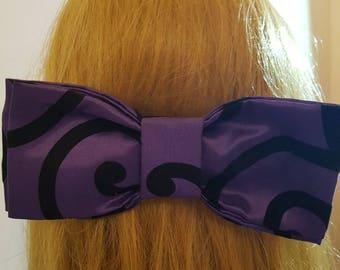 Pattern Bow Purple
