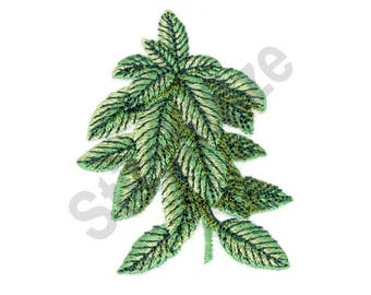 Basil - Machine Embroidery Design, Plant, Leaves