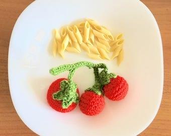 Amigurumi: Cherry tomatoes