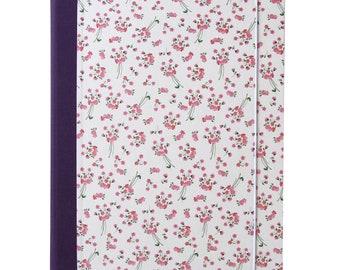 Binder A4-Flower Pink
