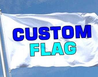 Custom Flag Custom Flags Full Color Designs Custom Flag 3ftX5ft Made to Order