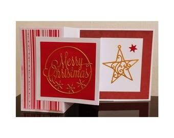Christmas card pop up card 3D pop up