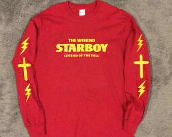 The Weeknd STARBOY Legend Of The Fall Tour Long Sleeve Shirt