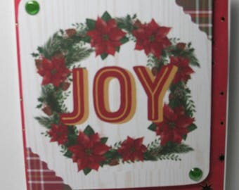 SALE Joy Christmas Card