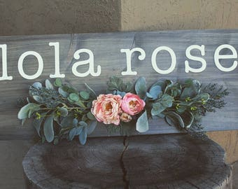 Custom Personalized Homemade Sign
