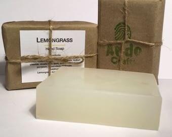Handmade Lemongrass Soap (3.5oz)