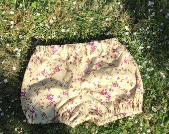 Girls Bloomers Pattern Diy Pantaloons Pdf Sewing Pattern