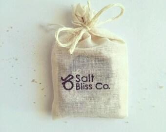 Bliss Me Bath Bombs   Bath Salts gift pack   effective natural bath salts   handmade   relaxing gift for her   remedial   foot soak   herbs