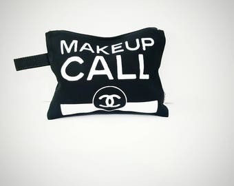 Makeup Call Cosmetic Bag