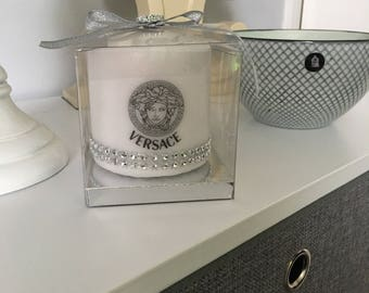 Versace inspired candle