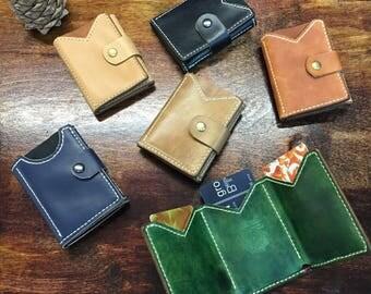 Leather MINI wallet