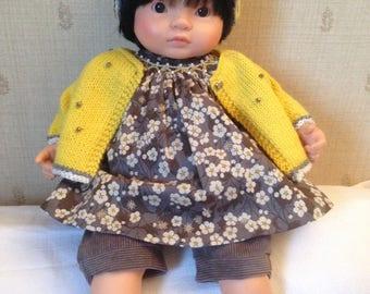 Handmade dress for baby Corolla 36 cm