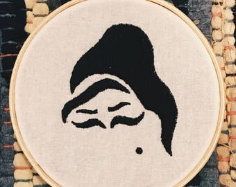 Amy Winehouse Embroidery