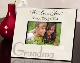 Personalized Parchment Picture Frame - Special Occasion Photo Frames - Personalized Picture Frames - Personalized Photo Frame Gifts