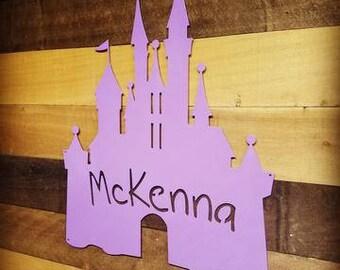 Princess Castle Personalized