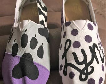 Hand-Painted Spirit Shoes