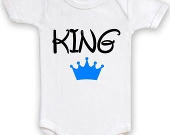 KING funny baby Bodysuit