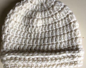 Crocheted child's hat