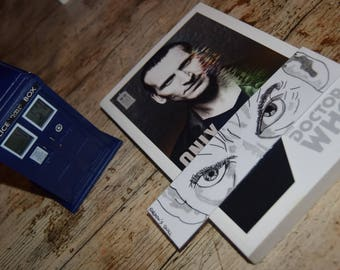 Bookmark simple Twelfth Doctor / / Simple bookmark Twelfth Doctor